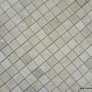 5X5 cm Dolgulu Honlu Traverten-DDH102