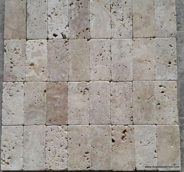 1x7,5x15 cm Eskitme Traverten, DE151
