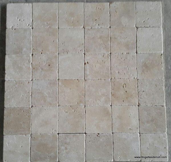 1x10x10 cm Klasik Eskitme Traverten, DE150
