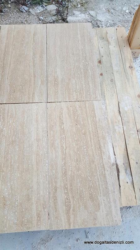2x30x60 cm Veincut Traverten, DDH129