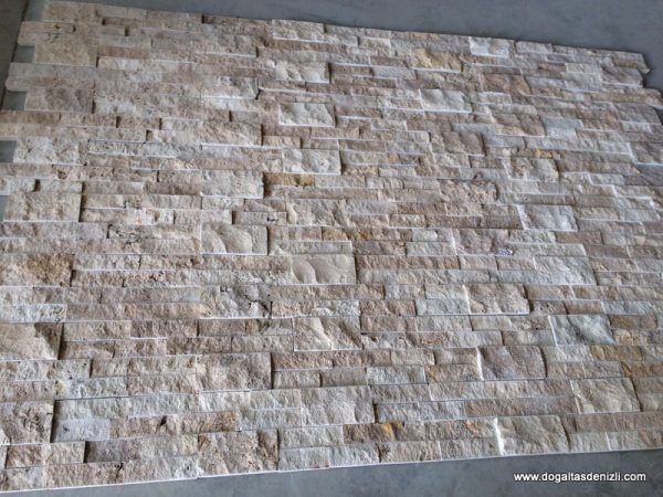 Rustik Patlatma Traverten Panel, DP132