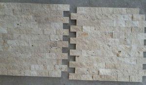 2,5x5 cm Light Patlatma Traverten, DP103
